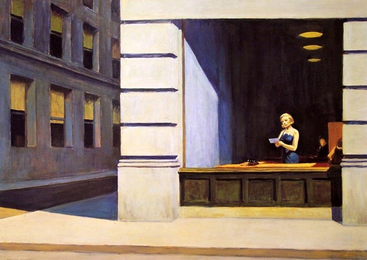 New York Office _ Edward Hopper Edward hopper paintings