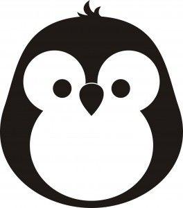 Penguin Stencils Stencil Patterns Screen Printing