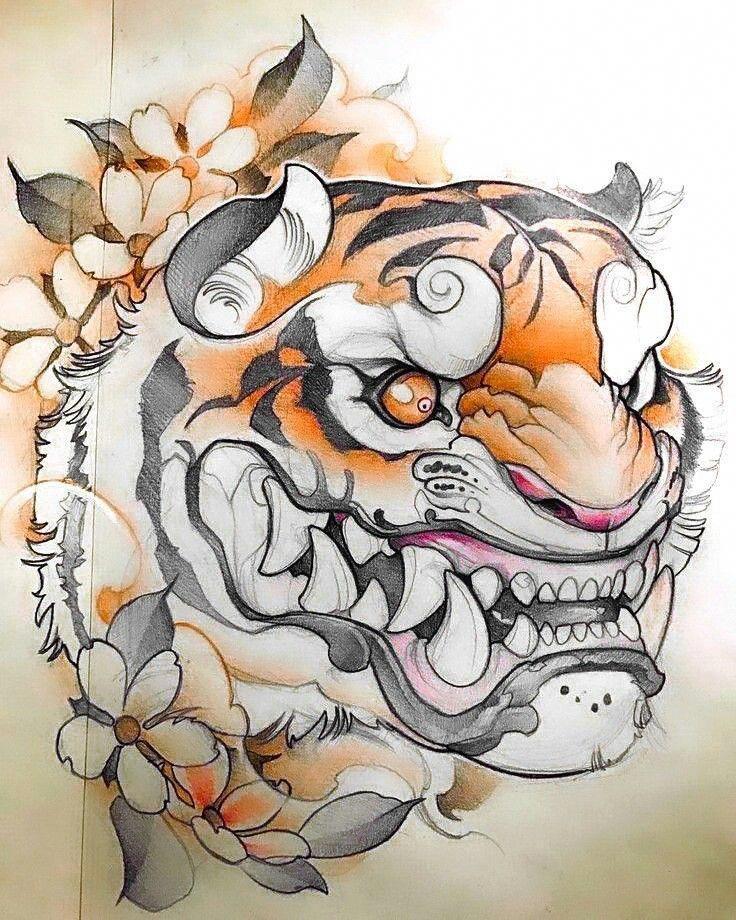 Japanese Tiger Japanesetattoos Japanese Tattoo Japanese Tattoo Art Japanese Tattoo Designs