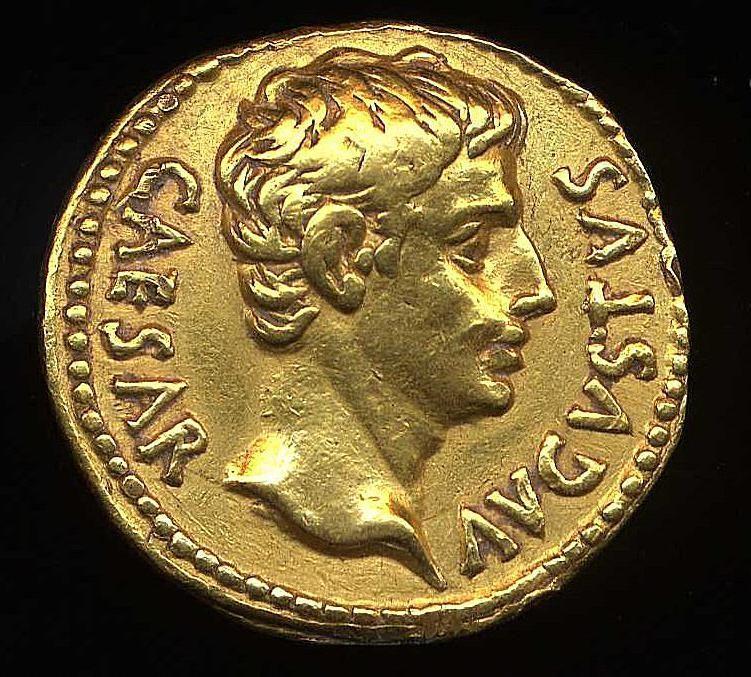 Resultado de imagen de monedas de oro julio cesar