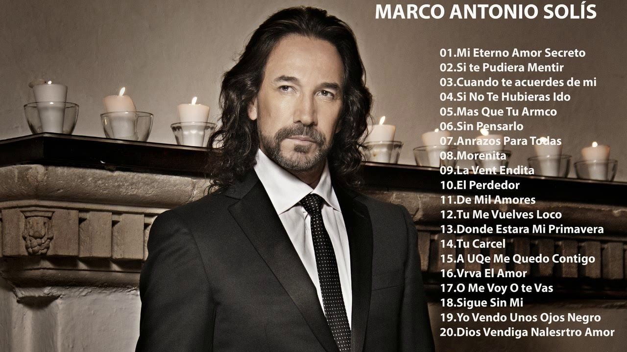 Marco Antonio Solis Romanticas Viejitas Mix Marco Antonio Solis Exitos Mi Eterno Amor Secreto Viejitos Marco Antonio