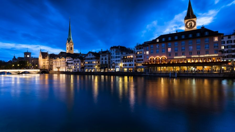 Switzerland City Zurich Hd Wallpapers Download