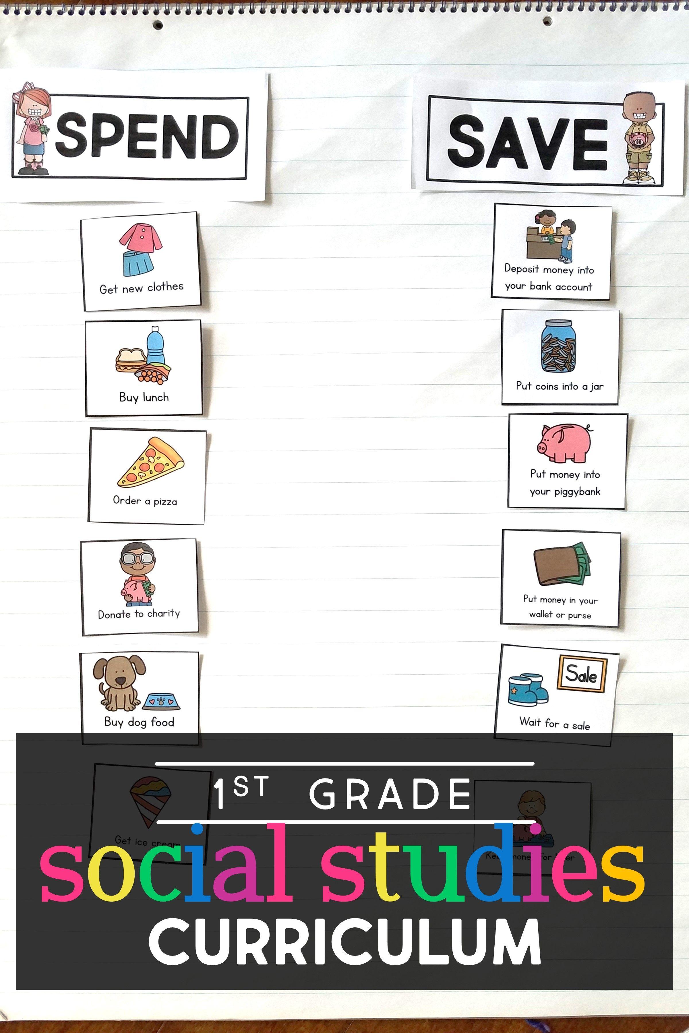 First Grade Social Stu S In