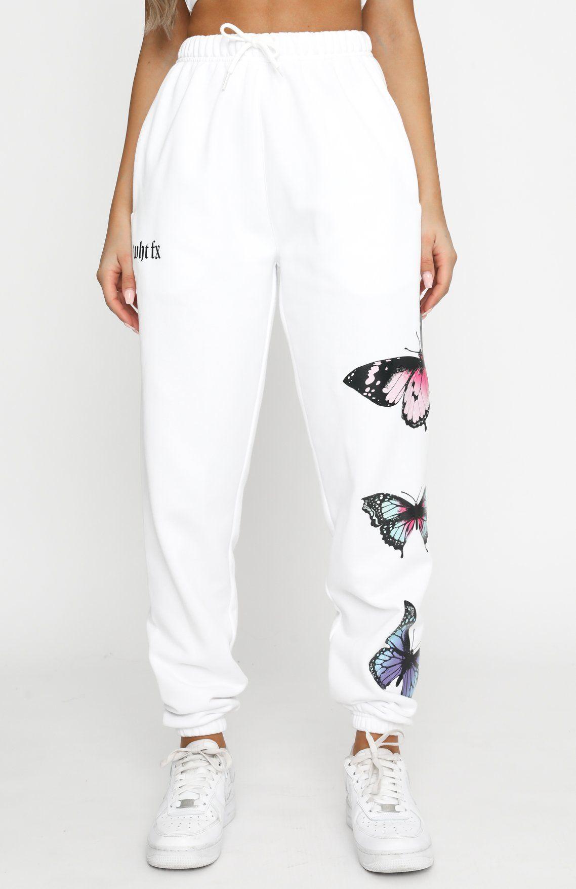 Butterfly Babe Sweatpants Tie Dye Joggers