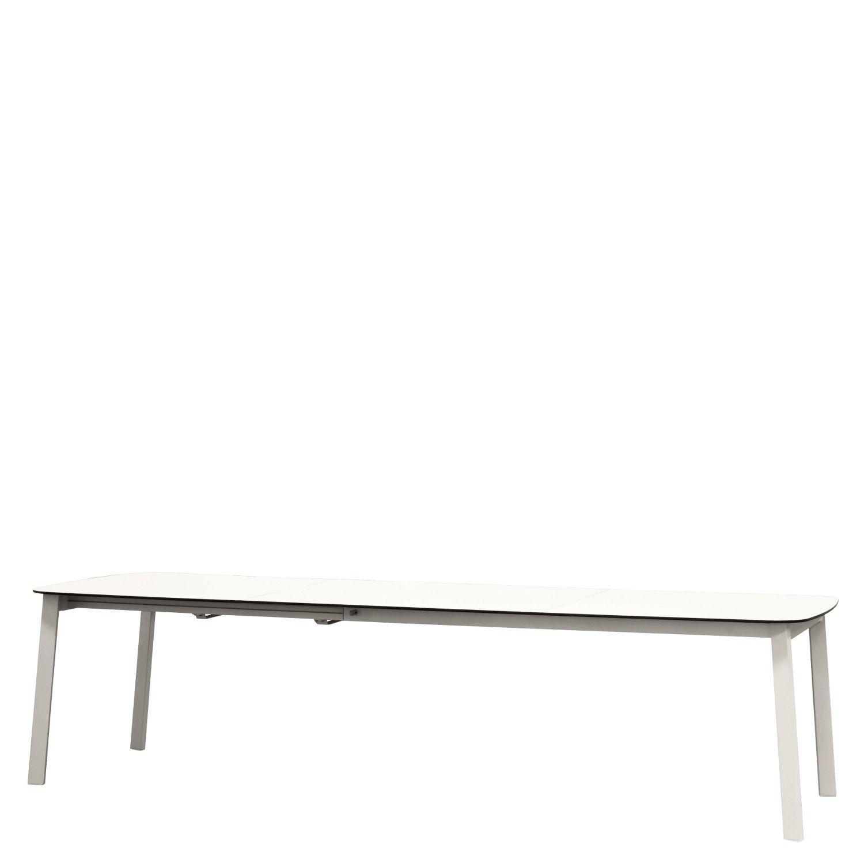 Shine Tisch Ausziehbarer Gartentisch 100x180 56 56 Gestell