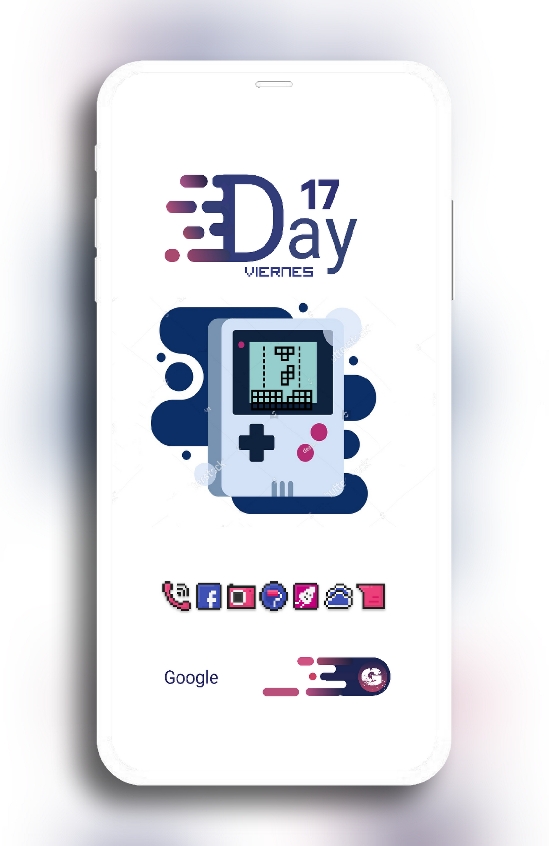 My homescrenn game Boy 😉😉 Nova launcher Zooper widget