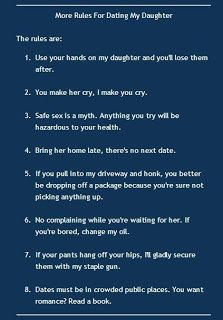 Apostolic rules for dating