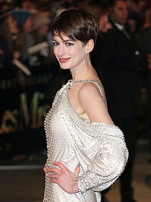 Anne Hathaway's Pixie Cut is one of our favorite daring styles of the last few years
