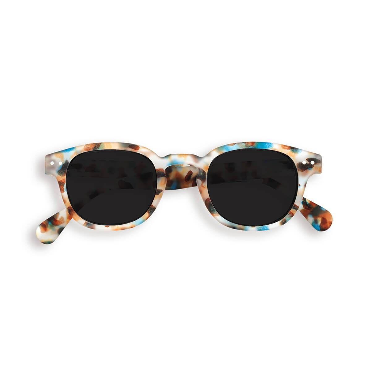 d795684b7 #junioredition.com loves #izipizi Sun Junior Sunglasses (3-10 Years) in  Blue Tortoise by Izipizi – Junior Edition