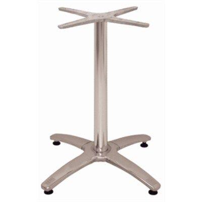 Lali Leg Table Base Aluminium Stainless Steel Brushed Furniture - Brushed aluminum table base