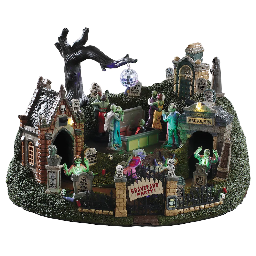Lemax® Spooky Town® Graveyard Party in 2020 Lemax