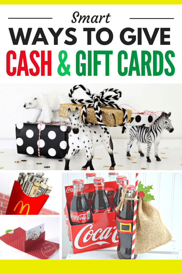 120 Creative Ways To Give Gift Cards Or Money 2017