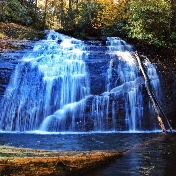Discovered by Michael Schuier: Secret waterfalls, hidden at Young Harris in Hood, GA