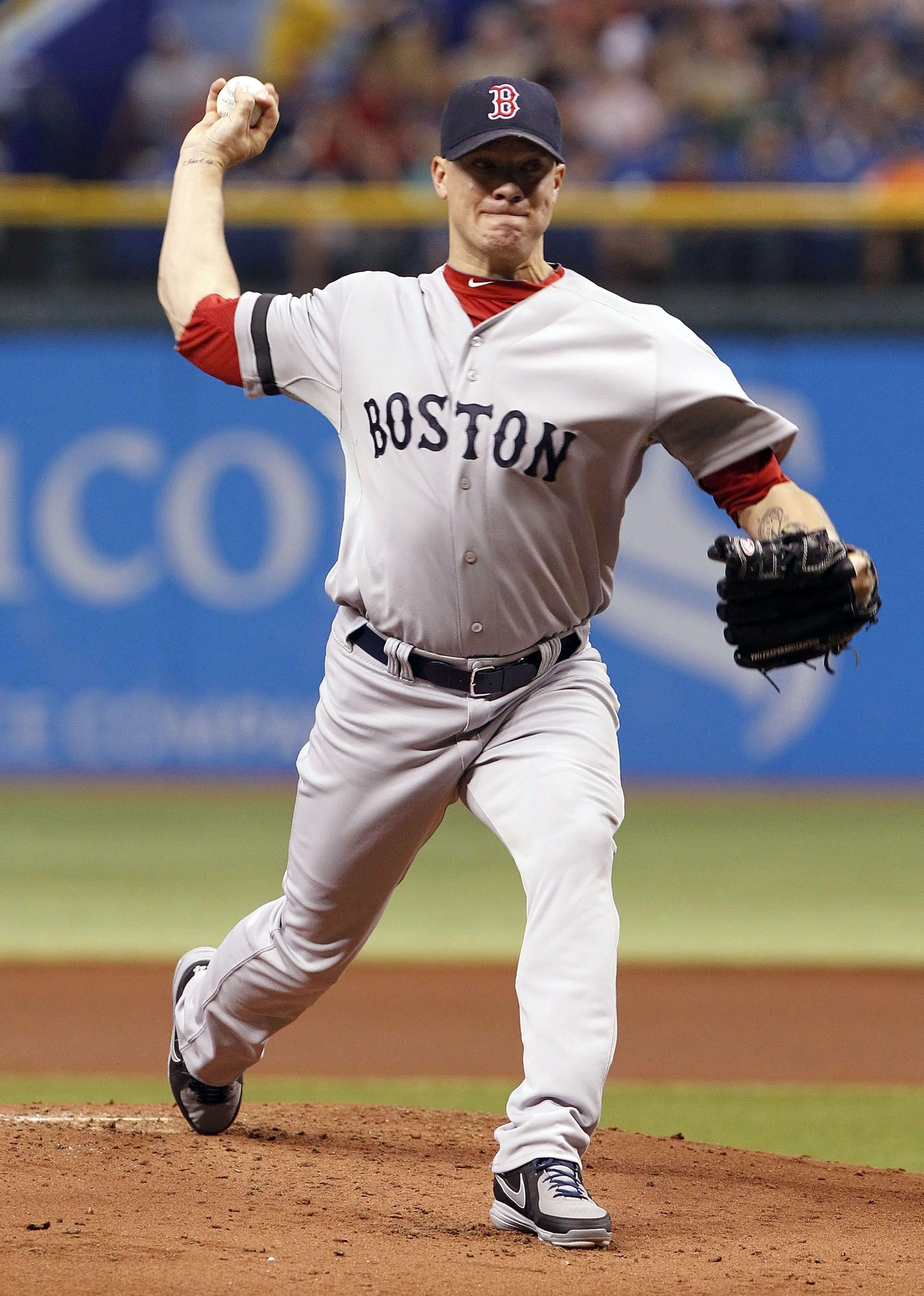 CrowdCam Hot Shot Boston Red Sox starting pitcher Jake