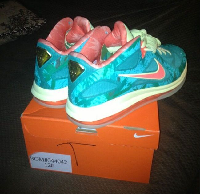 "separation shoes 35208 ef3d3 Nike LeBron 9 Low ""LeBronold Palmer"" – Reverse Sample"