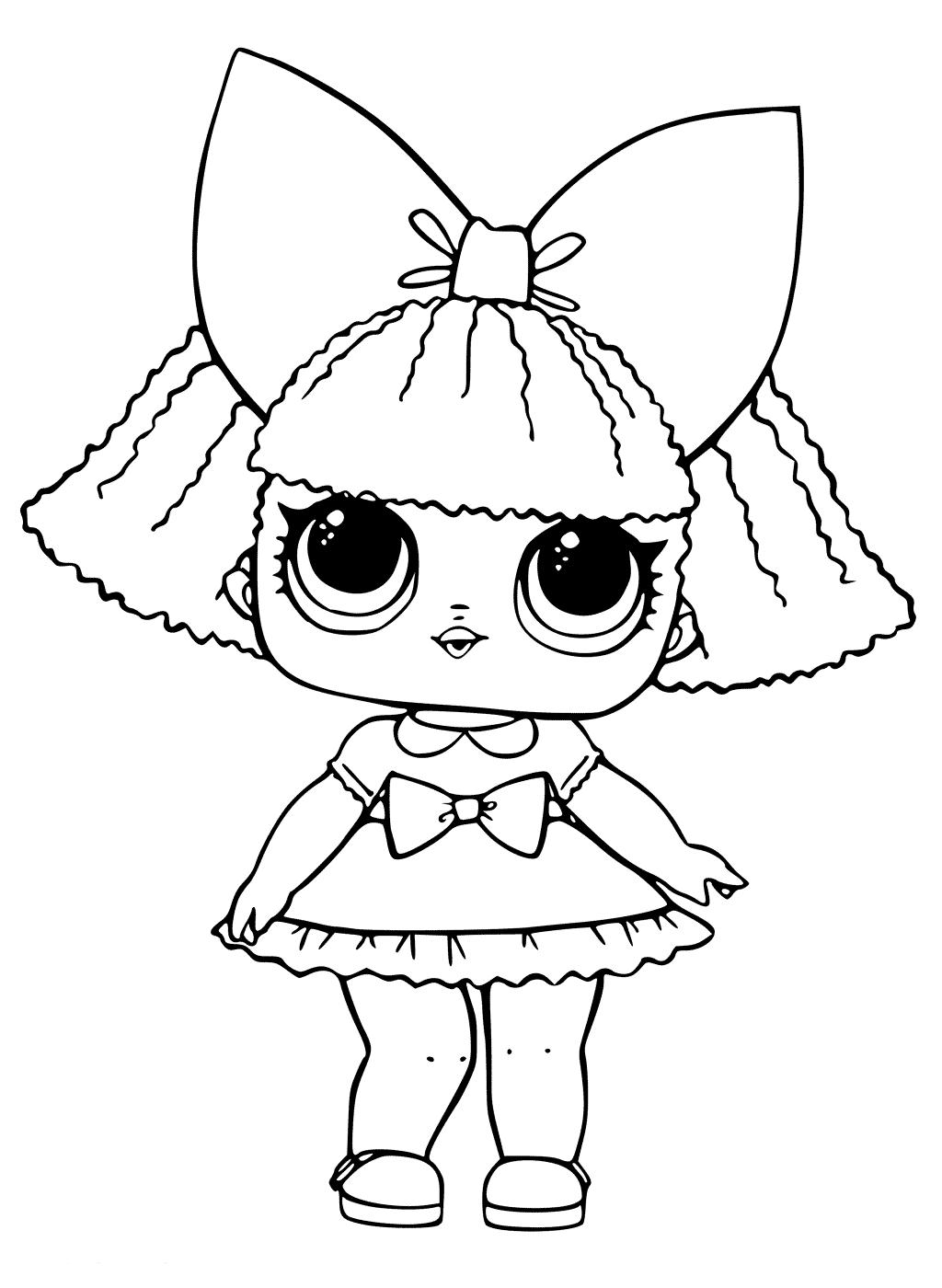 Кукла ЛОЛ королева блесток - Куклы LOL | Раскраски ...
