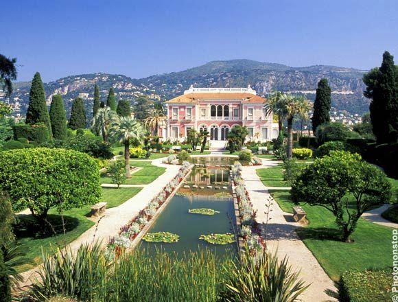 Villa ephrussi de rothschild un tour du monde des jardins for Villa du jardin sentosa