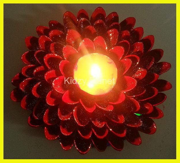 This Diwali Lets Make A Beautiful And Easy Diya Or Candle Holder Best Out Waste Its Simple DIY Craft For Kids It Together Material
