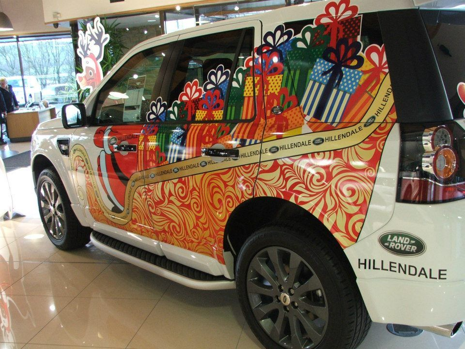 Santa drives a Land Rover Freelander! | Hillendale Group