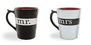 Amazon.com | Mr./Mrs. Mug (Mr. & Mrs.): Coffee Cups & Mugs