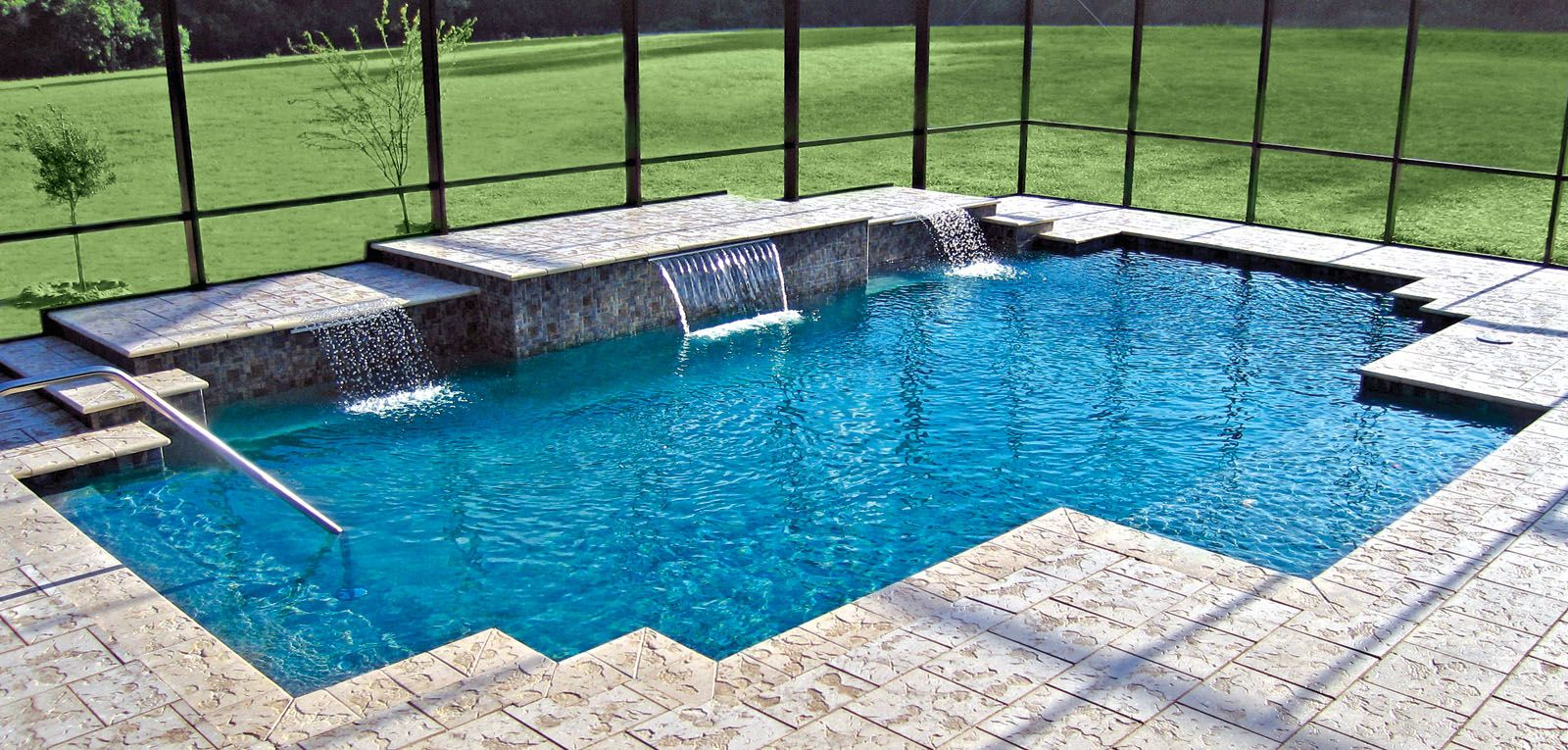 custom swimming pool designs. Geometric Pools - Blue Haven Custom Swimming Pool And Spa Builders Designs