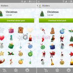 Christmas Stickers For Sony Sketch App Available For Download