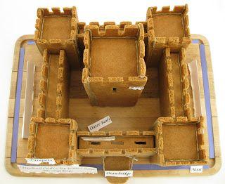 Alipyper Free Gingerbread Castle Template Food Gingerbread