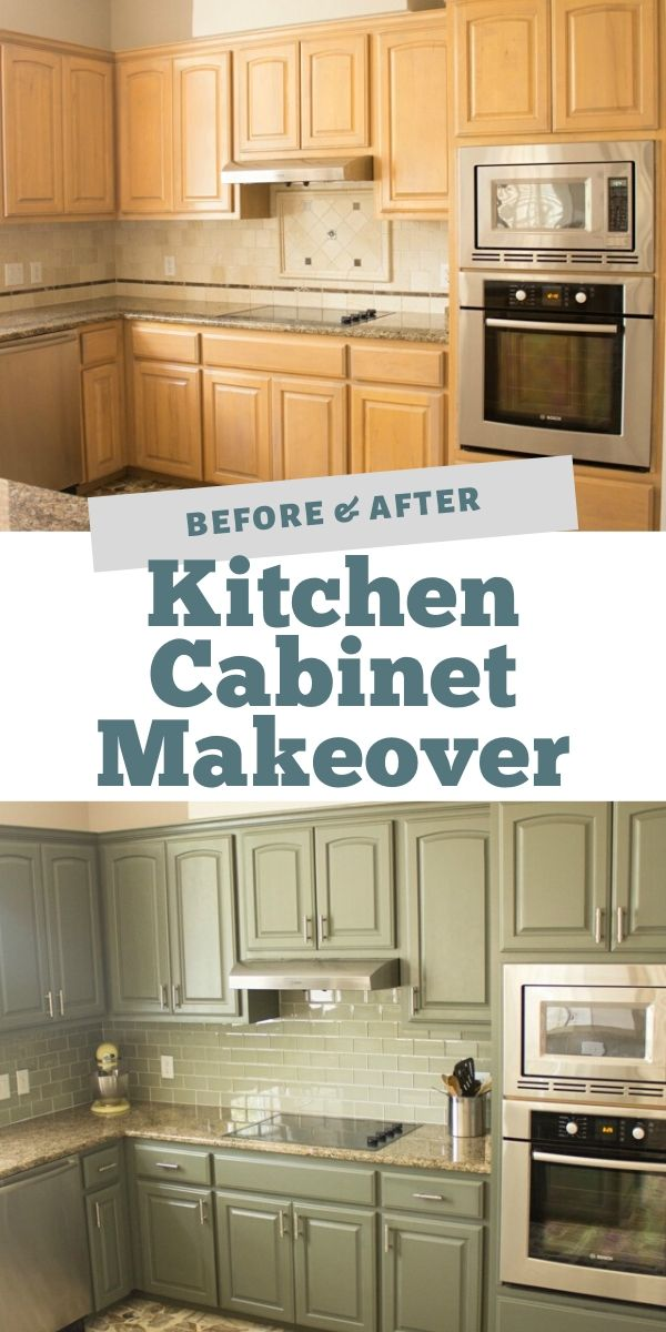 Our Exciting Kitchen Makeover Before And After In 2020 Kitchen Cabinet Remodel Kitchen Makeover Kitchen Cabinets Makeover