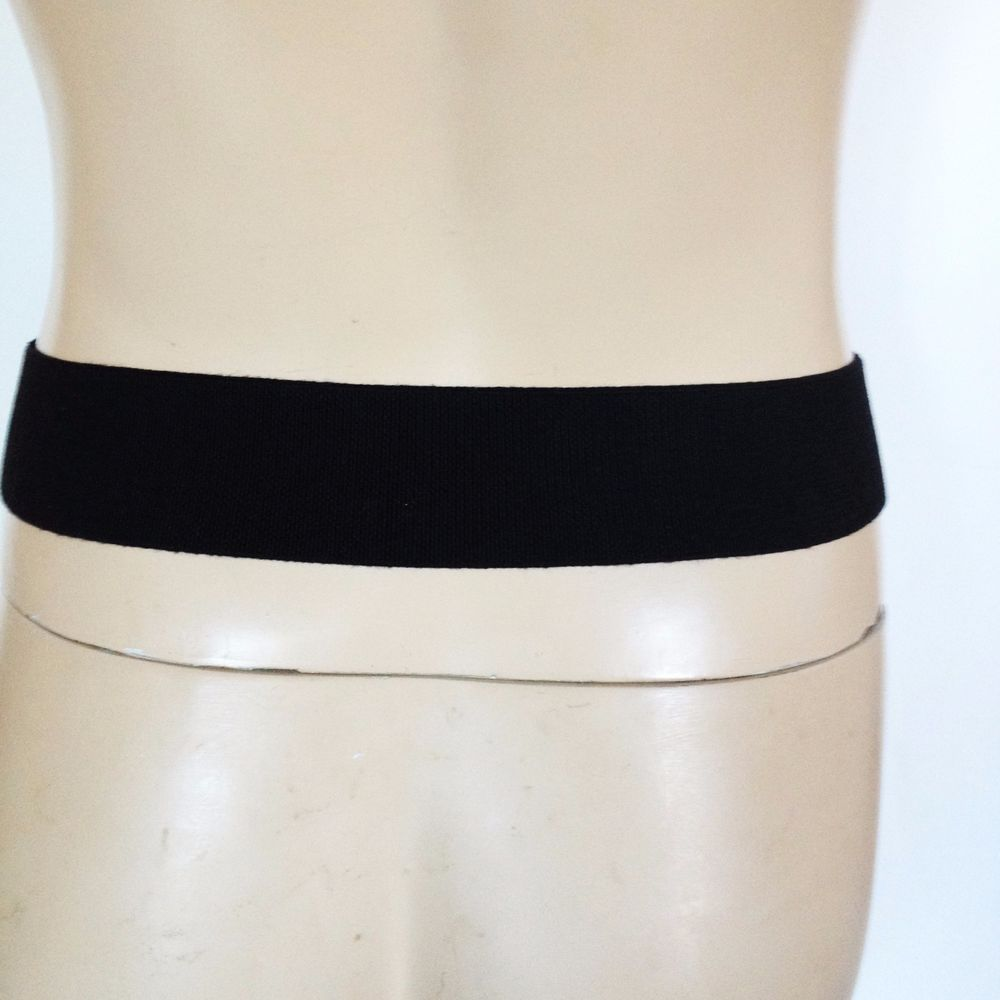 edb42c753 NEW BCBG BCBGMAXAZRIA RUNWAY BLACK BELT SIZE SMALL 100 LEATHER SIZE SMALL  WIDE  BCBGMAXAZRIA