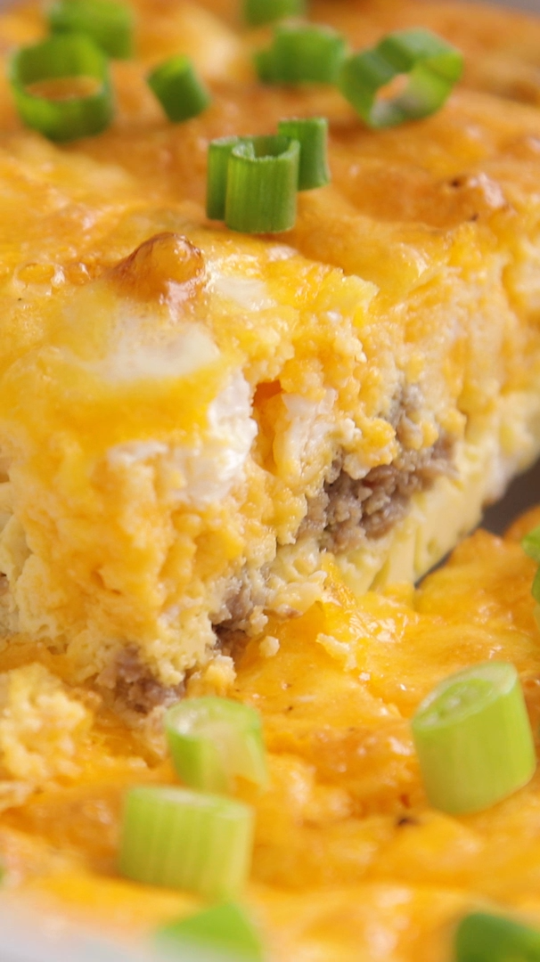 Keto Low Carb Breakfast Casserole Recipe