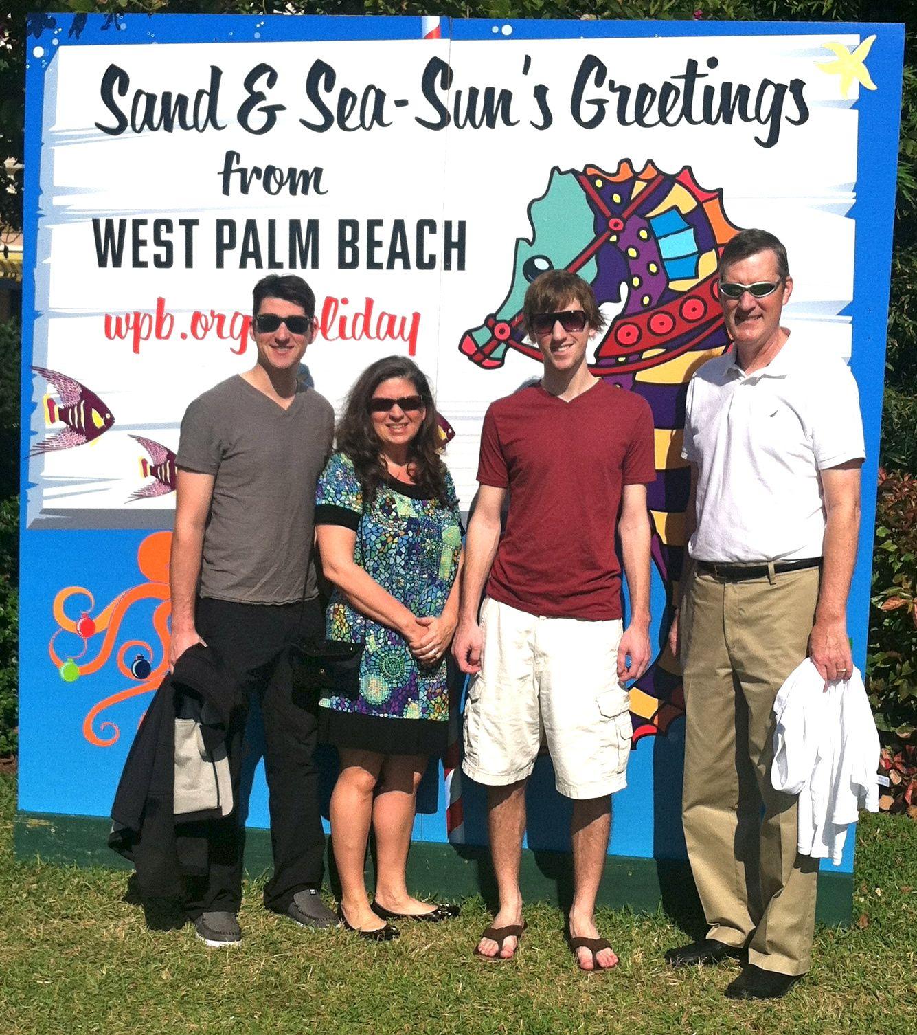 West Palm Beach Christmas 2012