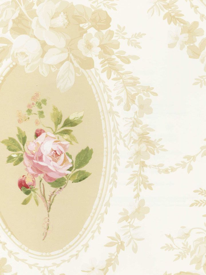 Pin By Bev Savage On Cottage Love Rose Wallpaper Floral Wallpaper Discount Wallpaper