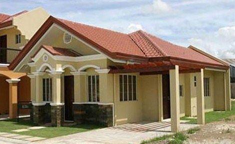 Fachadas De Casas Con Techo A 4 Aguas Y Ventanas En Arco Fachadas De Casas Modernas Fachada De Casas Bonitas Planos De Casas