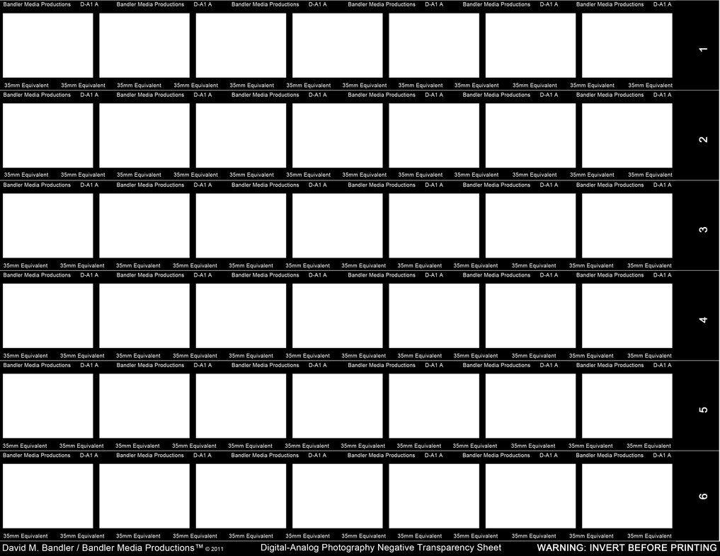 Digital Analog Negative Sheet   35mm Equiv. By BandleroStock On DeviantArt. Contact  SheetPhotographyBaeSample ...