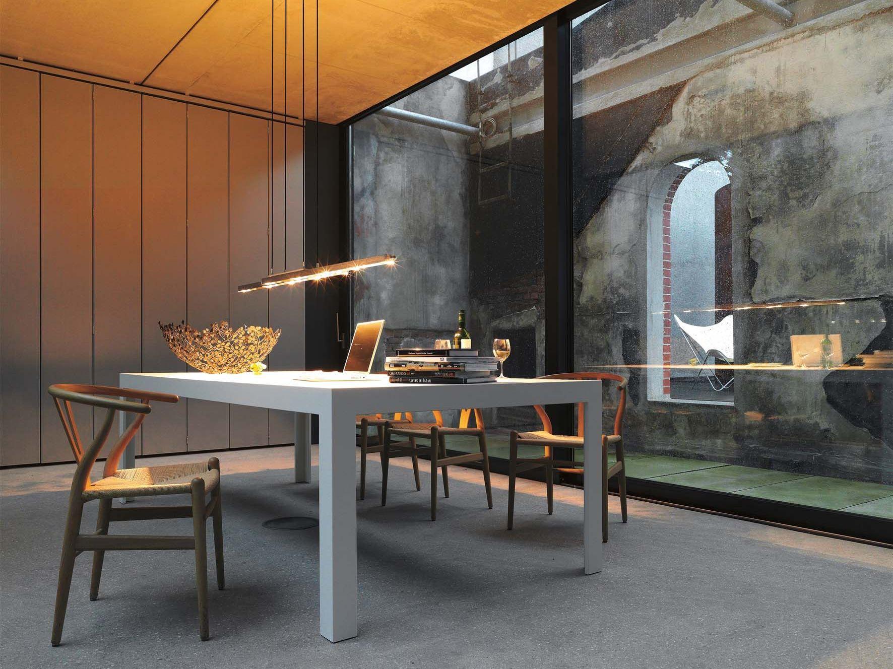Table C2 By Bulthaup Table A Manger Contemporaine Table Salle A Manger Design De Cuisine De Luxe