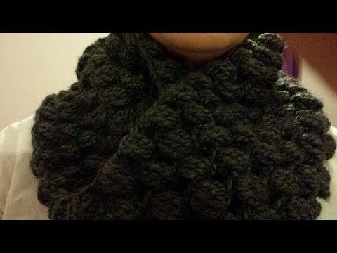 Cuello circular a crochet paso a paso /Crochet round neck step by step
