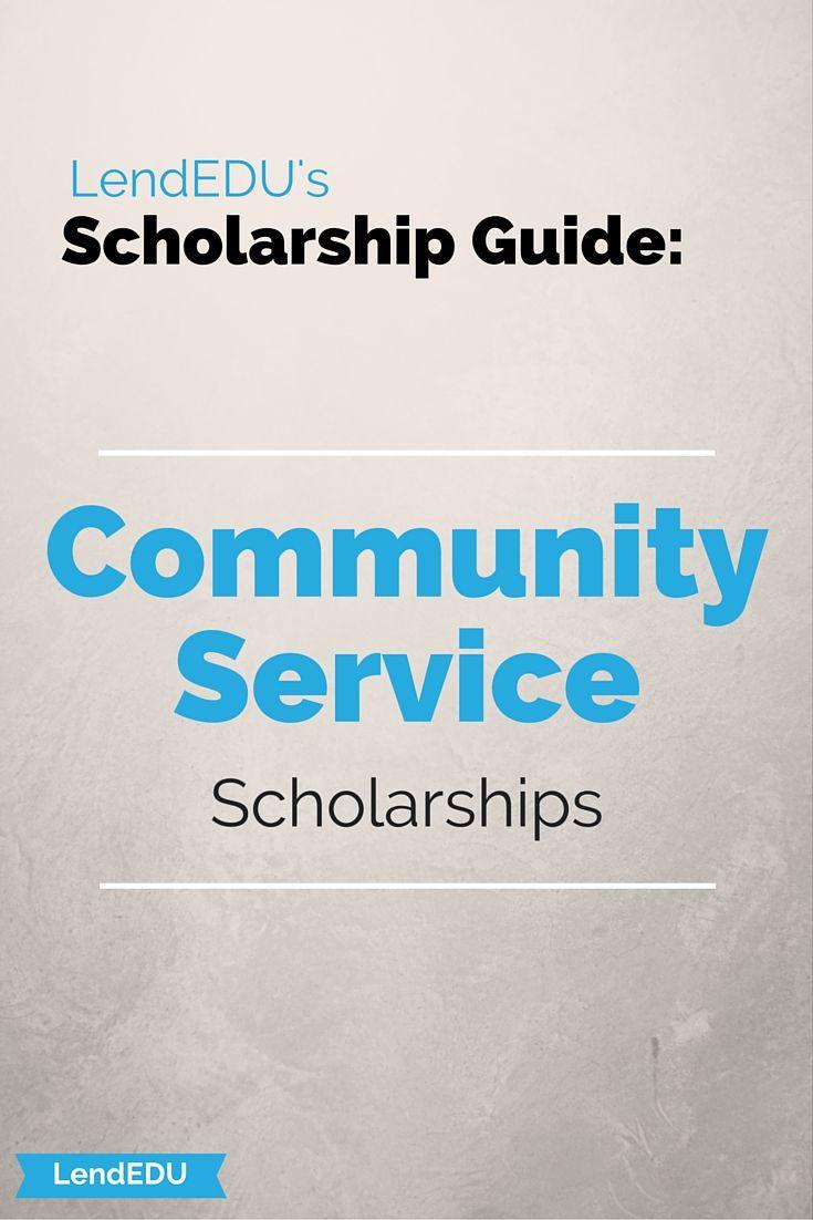 Community service scholarships lendedu study abroad