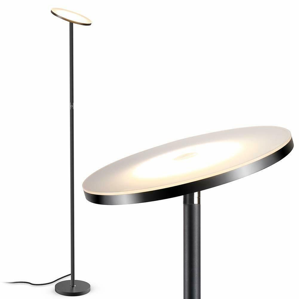 Torchiere Floor Lamp Teckin Dimmable Led Fl33 20w 3000k Floor