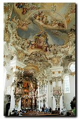 wieskirche church germany/images | In der Wieskirche (Helmut Reichelt) Tags: germany bayern deutschland ...
