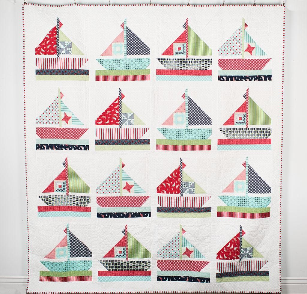Moda Daysail Smooth Sailing Quilt