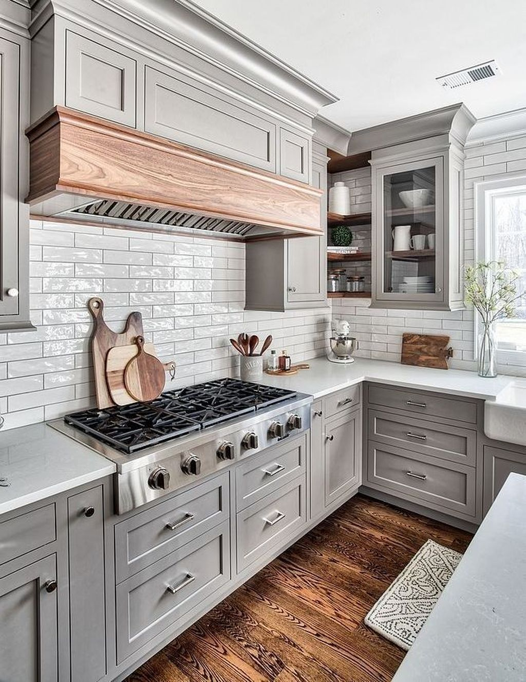 48 cute kitchen design ideas in 2020 with images grey kitchen designs kitchen cabinet on kitchen ideas modern id=64197