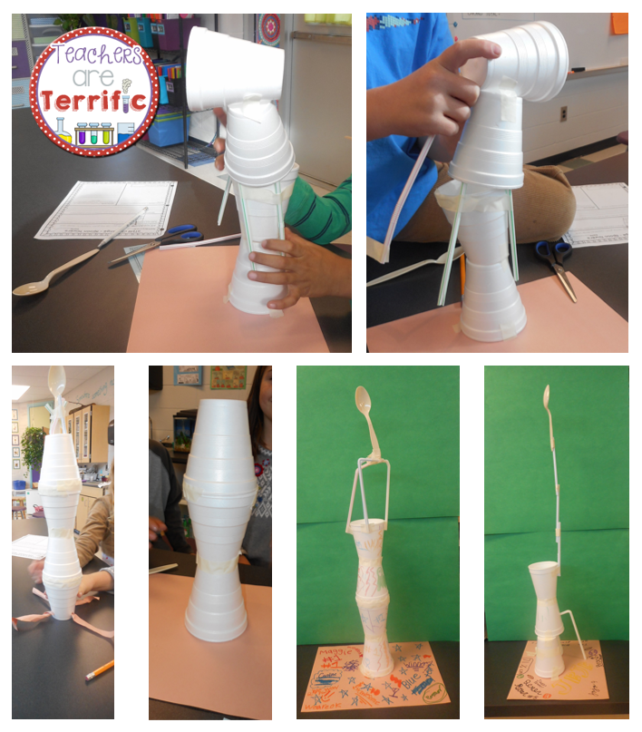 Quick Stem Challenge For Kids: STEM Quick Challenge Spoon Towers