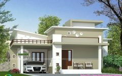 Modern House Pictures In Kerala With Cost To Paint House