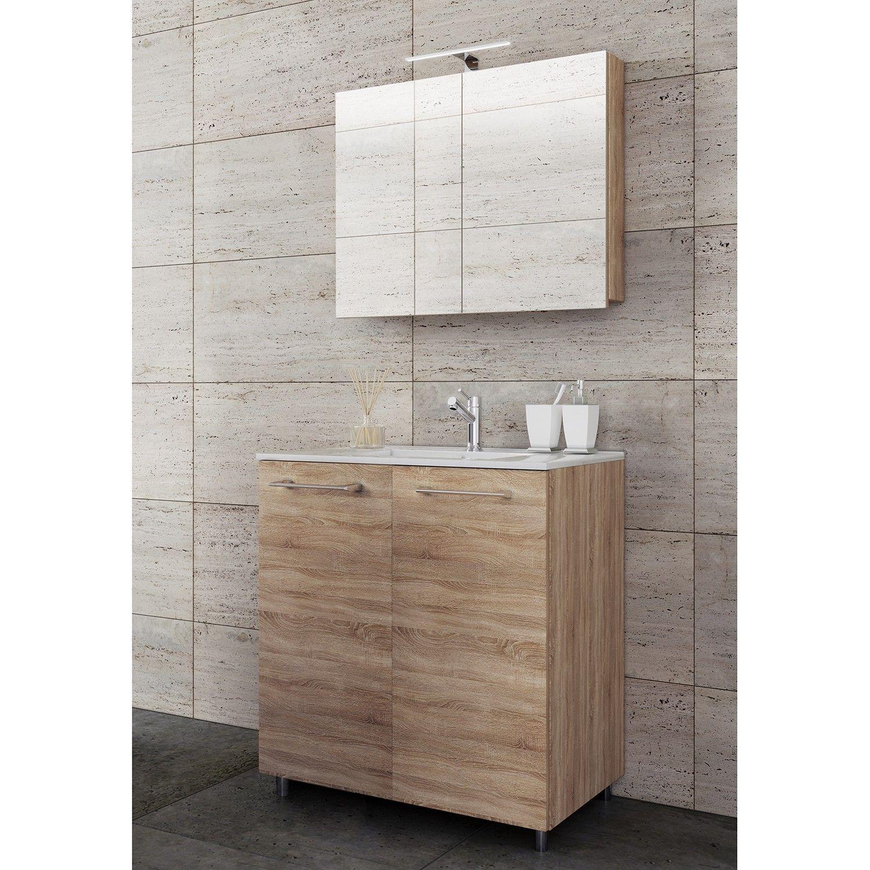 Badezimmerset Melville Vi 3 Teilig Waschtischunterschrank Unterschrank Waschtisch Set