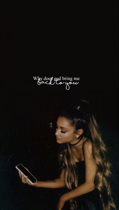 Pin by Crybaby 🖤 on Ariana Grande wallpapers♡ in 2019 | Ariana Grande, Ariana grande wallpaper, Ariana grande quotes