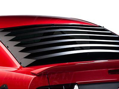 Willpak Rear Window Louvers Smooth Aluminum 05 14 All Rear Window Mustang Pony Car