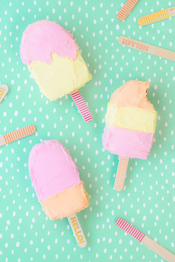 Magnificent Popsicle Cakes With Images Creative Birthday Cakes Popsicles Birthday Cards Printable Benkemecafe Filternl