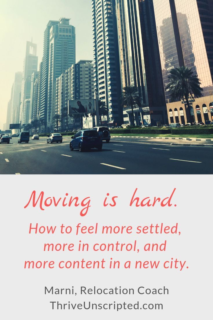 Preparing to move? Relocating to a new city or state? Learn how to settle in and be more in control in a new city. Click on this pin to read more! | moving tips | relocation tips | relocation | relocating to another state | preparing to move | moving to a new home | planning to move | #lovewhereyoulive  #movingtips   #relocation