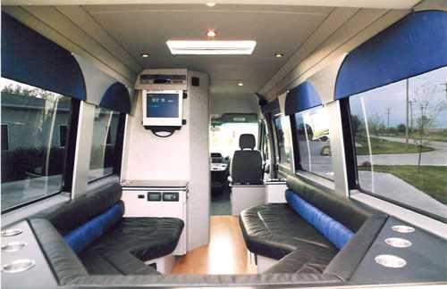 Custom Coaches Mobile Marketing Motor Coach Conversion