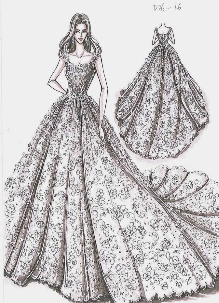 Fashion Design Illustration For Beginners Dress Design Drawing Easy New Fashi In 2020 Fashion Illustration Dresses Illustration Fashion Design Dress Design Drawing